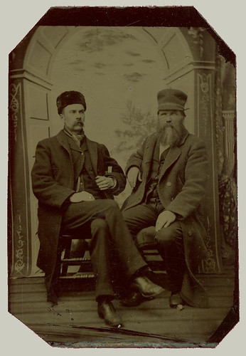 Tintype Two men