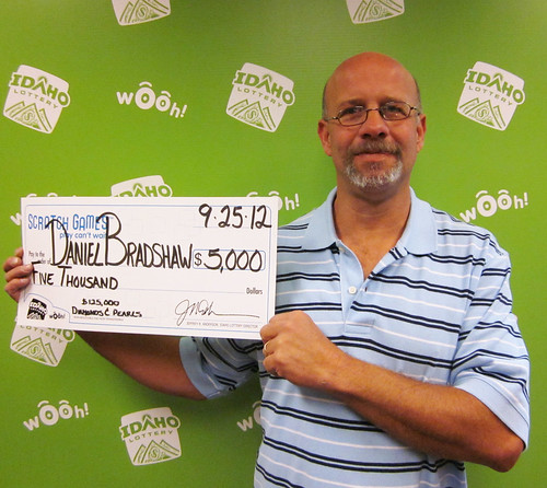 Daniel Bradshaw - $5,000 $125,000 Diamonds & Pearls | by Idaho Lottery
