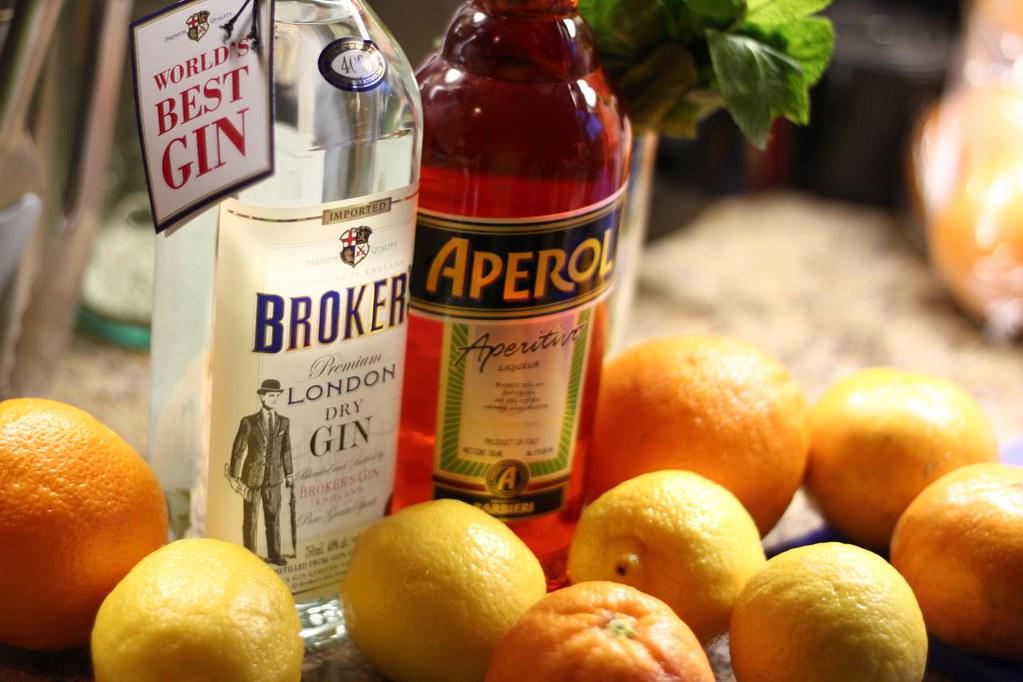 Broker's Gin for La Mugnaia cocktail