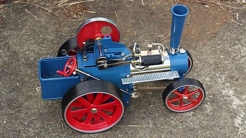 Wilesco toy traction engine kit