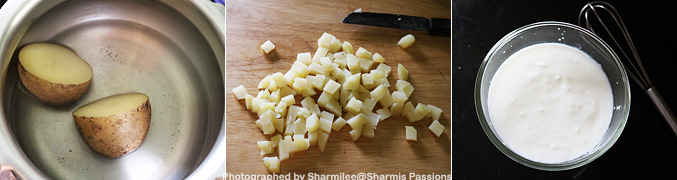 How to make Aloo Raita Recipe - Step1