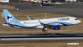 InterJet A320-214 msn 7264