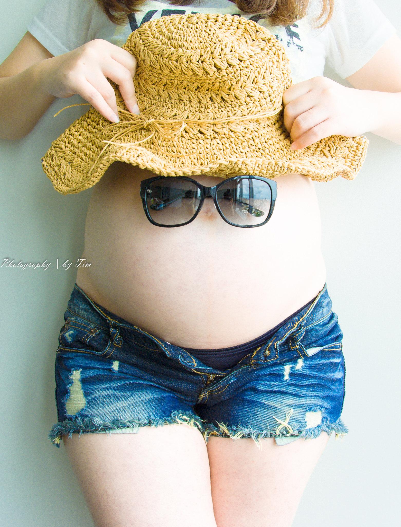 (簡單分享) 自拍孕照紀錄~