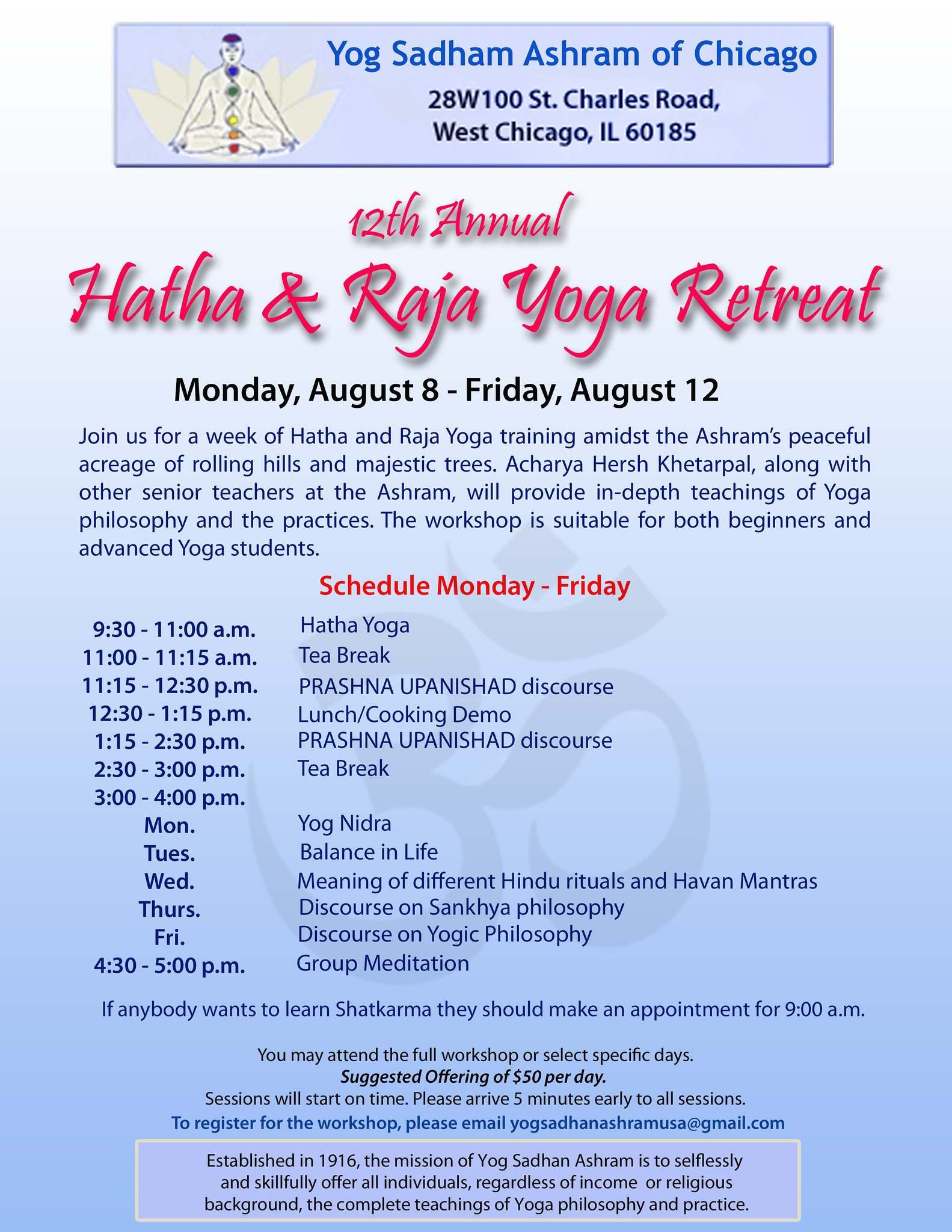 yoga retreat 2016