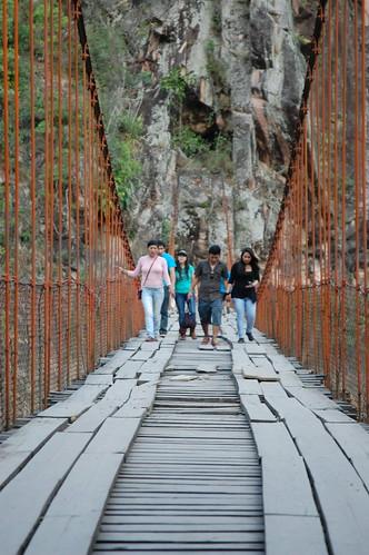 Puente Colgante Kimiri (Quimiri), near La Merced, Chanchamayo, Junín, Peru