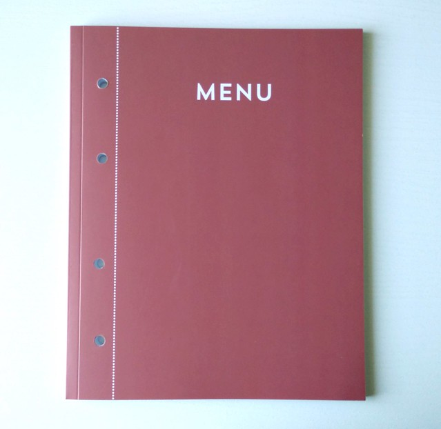 Menu Organize it