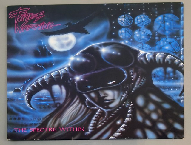 "FATES WARNING ?THE SPECTRE WITHIN 12"" LP ALBUM VINYL"