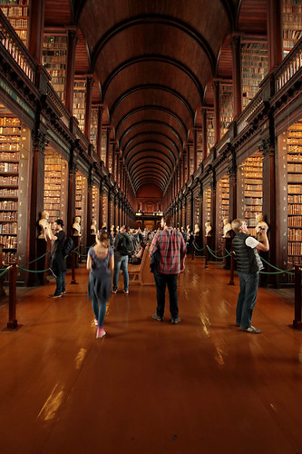 Trinity College: the long room