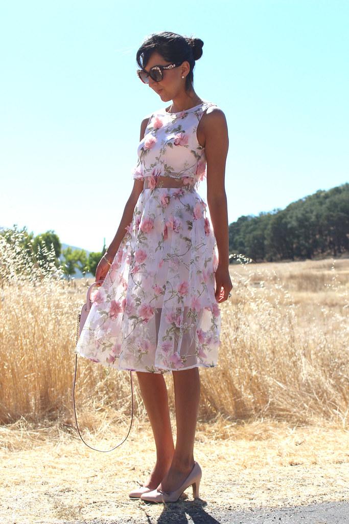 3D Floral Dress 3