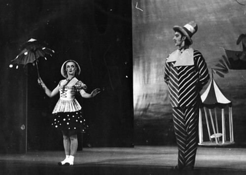 Kenneth MacMillan as The Great Admirer of Mademoiselle Piquant in Children's Corner © 1948 Royal Opera House/Roger Wood | by Royal Opera House Covent Garden