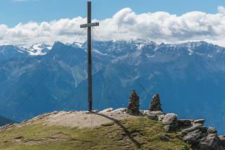 Gipfel Spitzige Lun, 2324 m, Ortlerberge