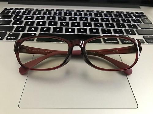JINS で今回作ったメガネ