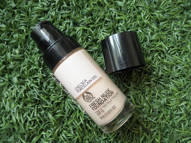 The Body Shop Fresh Nude Foundation Review Chelsea Porcelain