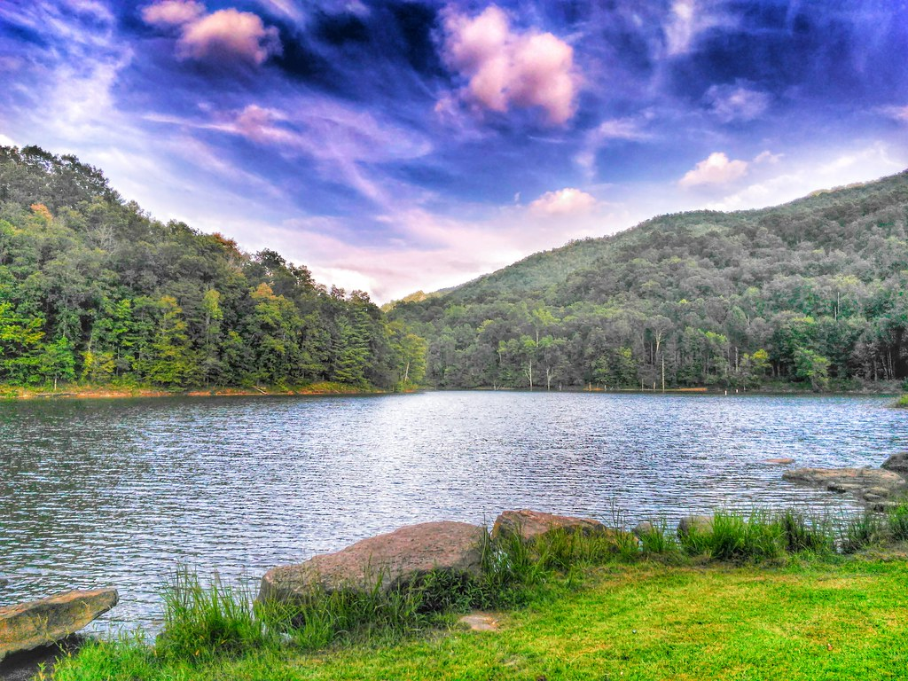 Martin's Fork Lake -- Harlan County Kentucky