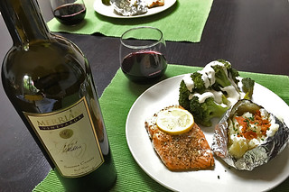 Merriam Vineyards - 2008 Miktos salmon