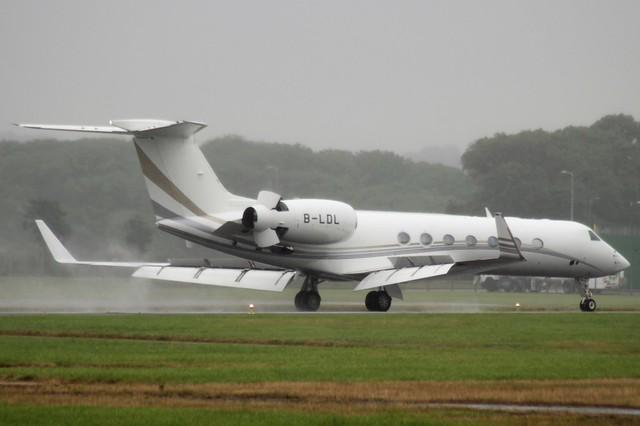 Gulfstream G550 B-LDL 24JUL16 - Gerallt Marsh