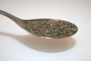 11 - Zutat Thymian / Ingredient thyme