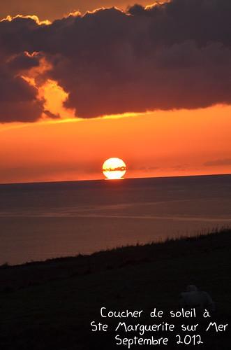 Ste marguerite sur mer coucher de soleil chambres d for Varengeville chambres d hotes