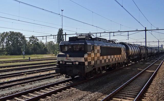 Station Zutphen HSL Logistics 1832 Blokjesloc