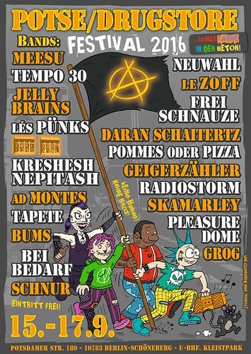 [LIVE] Donnerstag, 14.9. | TAPETE & WÖLF | 23:30Uhr | Berlin-Schöneberg @ Potse (Drugstore)