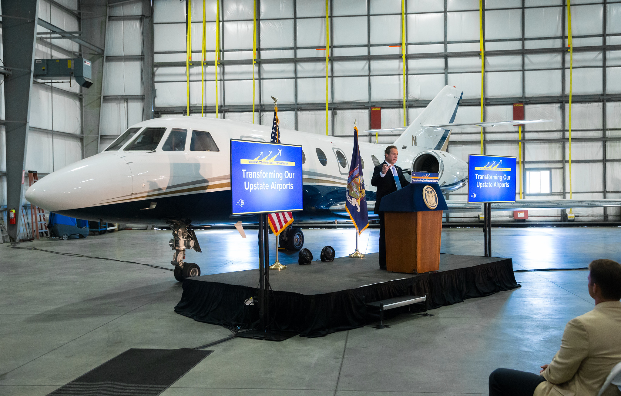 Governor Cuomo Announces $58 Million Transformation of Elmira Corning Regional Airport