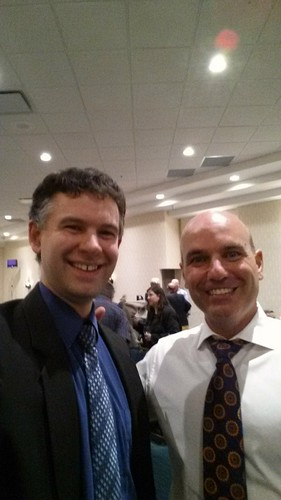 Me and MP Nathan Cullen in Regina after #ERRE committee meeting open mic I spoke at.