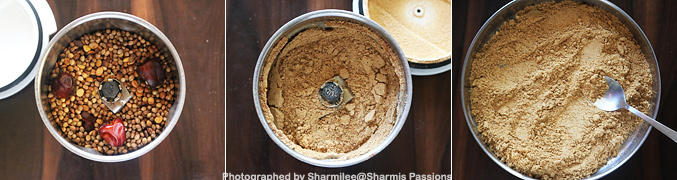 How to make Sundal Podi Recipe - Step2