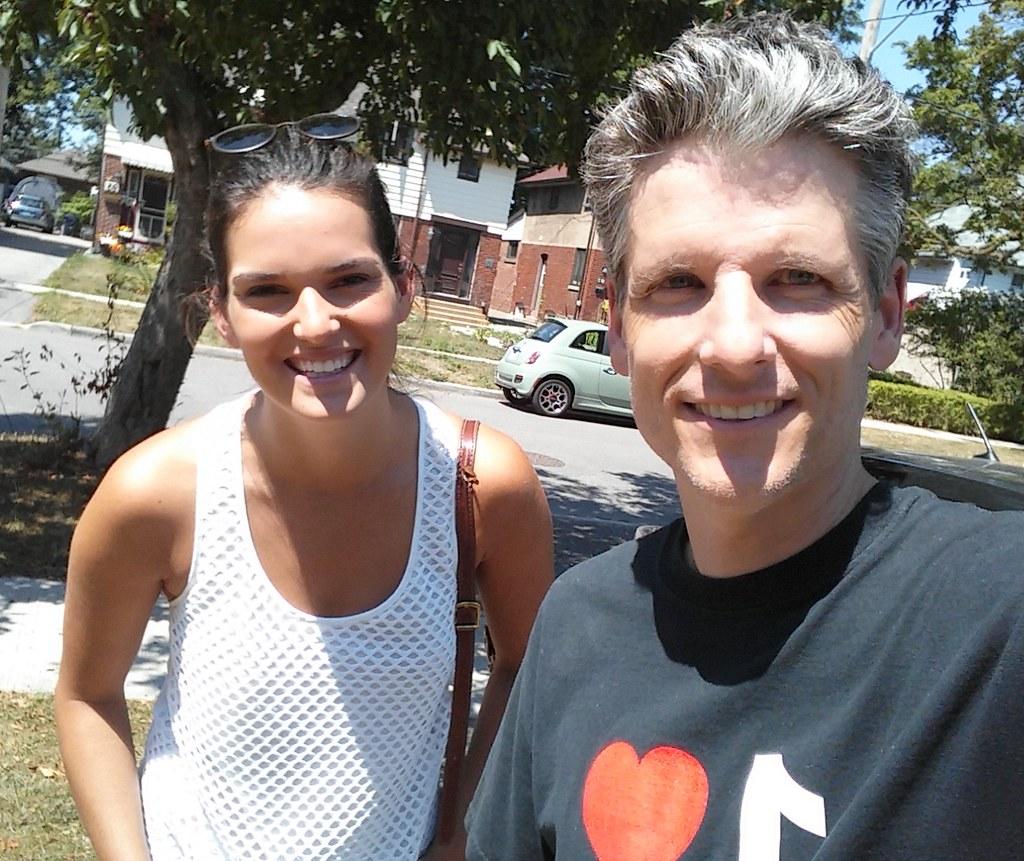 Caroline Cameron and Toronto Mike