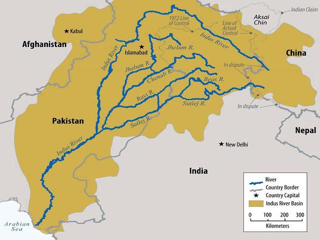 सिंधु नदी बेसिन