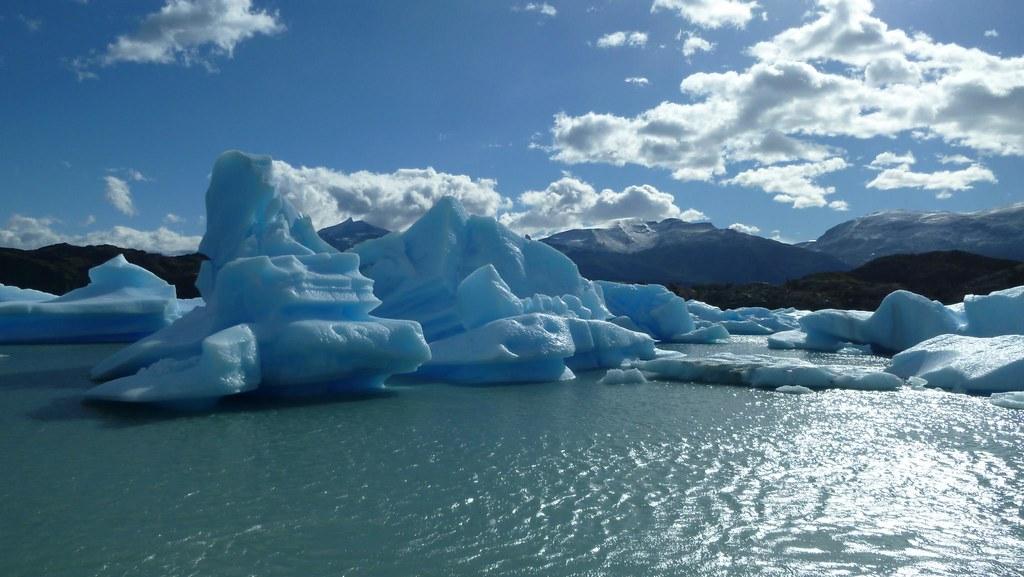 Icebergs, Lago Argentino, Patagonia