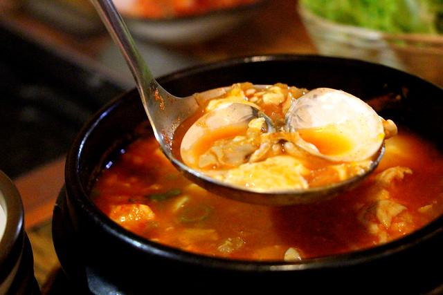 Oh Neul Han Jeom Clam Soup