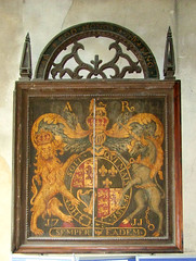 'Semper Eadem': Queen Anne royal arms