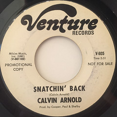 CALVIN ARNOLD:FUNKY WAY(LABEL SIDE-B)