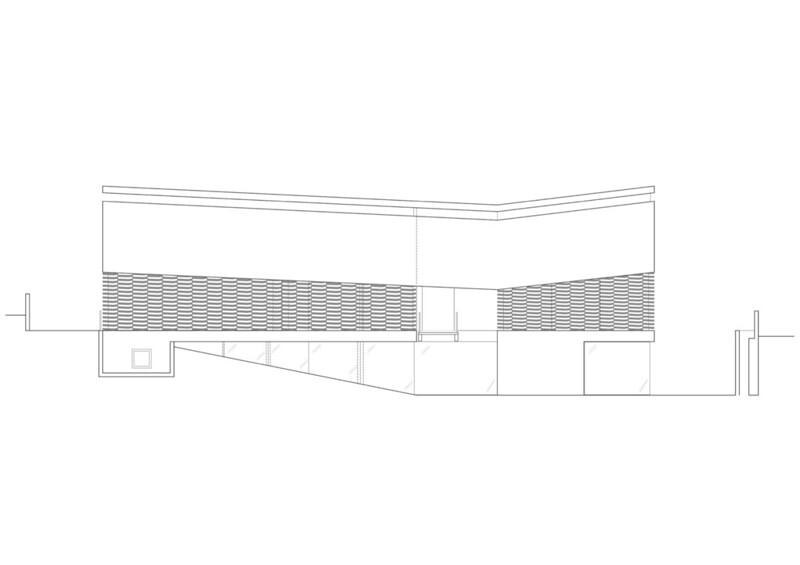 План дома в стиле Hi-Tech от Pitsou Kedem Architects