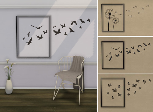 {what next} 'Flyaway' Wall Art (black) | by What Next/Winter Thorn