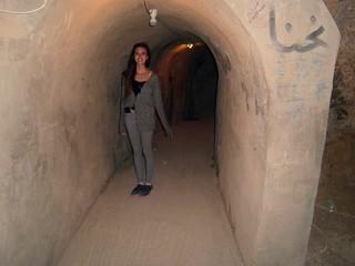 Briana On The Way To Kadisha Grotto