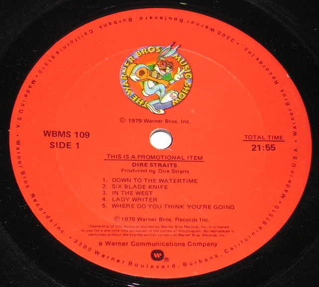 Dire Straits Live Promo Warner Bros Music Show