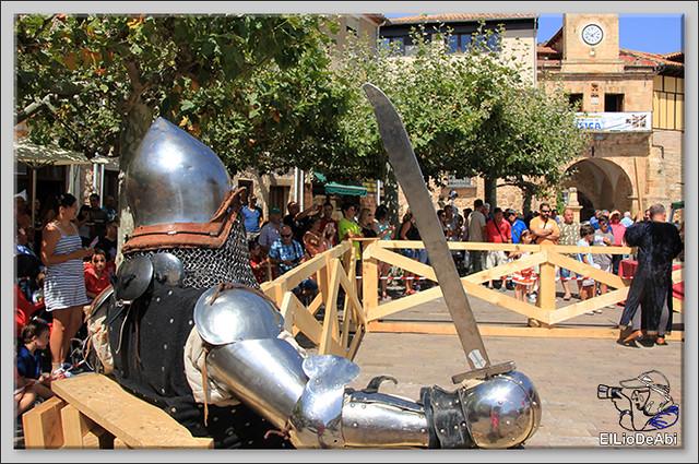 Poza de la Sal, Feria de Artesanía y Alimentación y Combates medievales (16)