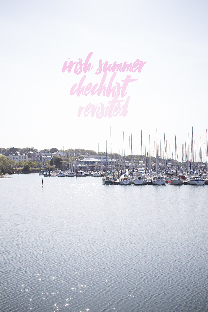 Irish Summer Checklist Revisited