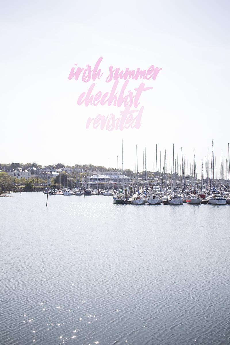 Irish Summer Checklist Revisited