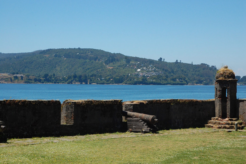 Views of the Fort on Corral, Valdivia, Los Ríos, Chile