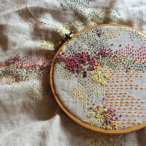 Stitch Journal, Day 244: last day of August, 2016