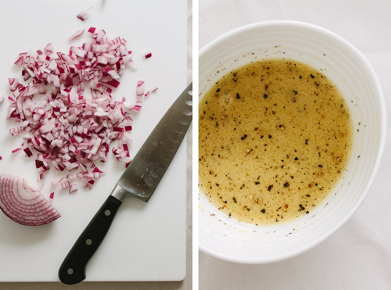 RED ONION + APPLE CIDER DRESSING