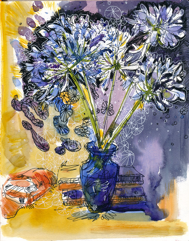 Sketchbook #99: Agapanthus