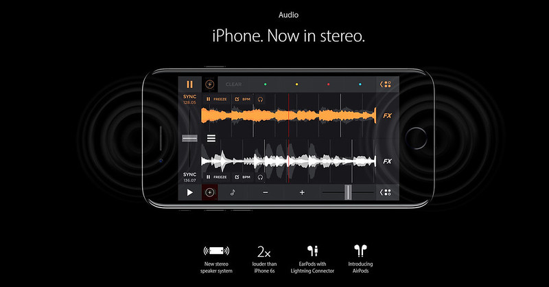 iphone stereo