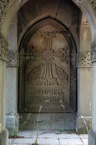 Simferopol, Armenian Cemetery, Tomb of Spendiarovs, 2016.06.18 (06)