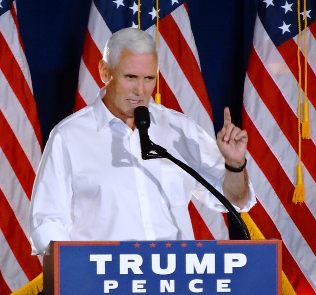 Indiana Gov. Mike Pence in Waukesha