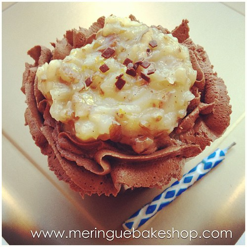 German Chocolate Cupcakes Cake Mix
