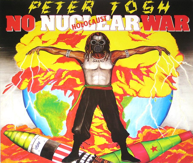 "Peter Tosh - No Nuclear War 12"" vinyl LP album"