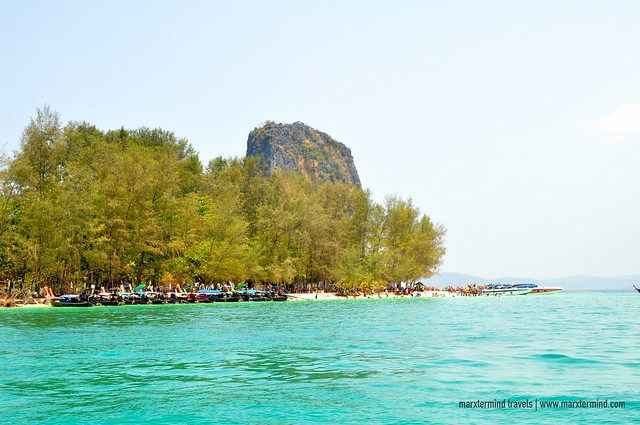 Tourists at Koh Poda Krabi